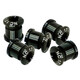 NC-17 Chainring bolt 4 and 5 hole BCD black